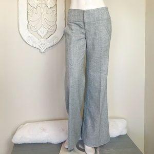 Anthropologie   Cidra Grey Wool Blend Pants 6